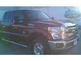 2015 Bronze Fire Ford F250 Super Duty XLT Crew Cab 4x4 #101322559