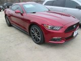 2015 Ruby Red Metallic Ford Mustang EcoBoost Coupe #101322548