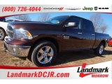 2015 Western Brown Ram 1500 Big Horn Crew Cab 4x4 #101322716