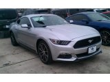 2015 Ingot Silver Metallic Ford Mustang EcoBoost Coupe #101322546