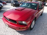 2007 Redfire Metallic Ford Mustang V6 Deluxe Coupe #101323358