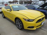 2015 Triple Yellow Tricoat Ford Mustang GT Premium Coupe #101322542