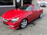 2014 Mars Red Mercedes-Benz SLK 350 Roadster #101323154
