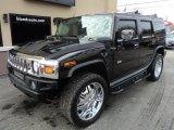 2003 Black Hummer H2 SUV #101323153