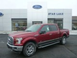 2015 Ruby Red Metallic Ford F150 XLT SuperCrew 4x4 #101323325