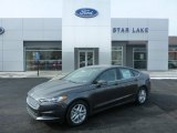 2015 Magnetic Metallic Ford Fusion SE #101323321