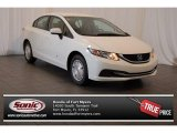 2015 Taffeta White Honda Civic HF Sedan #101322373