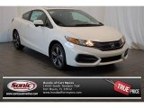 2015 White Orchid Pearl Honda Civic EX Coupe #101322368