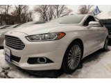 2013 White Platinum Metallic Tri-coat Ford Fusion Titanium #101322993
