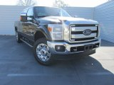 2015 Tuxedo Black Ford F250 Super Duty Lariat Crew Cab 4x4 #101405323