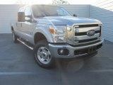 2015 Ingot Silver Ford F250 Super Duty XLT Crew Cab 4x4 #101405322