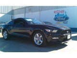 2015 Black Ford Mustang V6 Coupe #101405128
