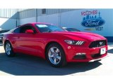 2015 Race Red Ford Mustang V6 Coupe #101405126