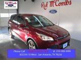 2015 Ruby Red Metallic Ford Escape SE #101405122