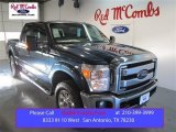 2015 Blue Jeans Ford F250 Super Duty Lariat Crew Cab 4x4 #101405121
