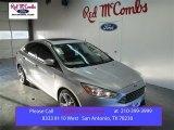 2015 Ingot Silver Metallic Ford Focus Titanium Sedan #101405120