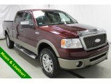 2006 Dark Toreador Red Metallic Ford F150 Lariat SuperCrew 4x4 #101404961