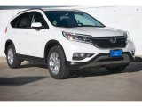 2015 White Diamond Pearl Honda CR-V EX-L #101443268