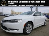 2015 Bright White Chrysler 200 Limited #101443168
