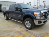 2015 Blue Jeans Ford F250 Super Duty XLT Crew Cab 4x4 #101443121