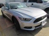 2015 Ingot Silver Metallic Ford Mustang EcoBoost Coupe #101443120