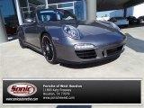 2012 Meteor Grey Metallic Porsche 911 Carrera GTS Coupe #101443389