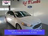2015 Oxford White Ford Fusion SE #101443115