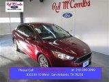 2015 Ruby Red Metallic Ford Focus SE Sedan #101443114