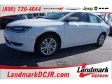 2015 Bright White Chrysler 200 Limited #101443201