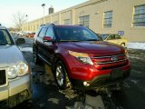 2014 Ruby Red Ford Explorer Limited 4WD #101443291