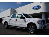 2014 Oxford White Ford F150 STX SuperCrew 4x4 #101487696