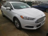 2015 Oxford White Ford Fusion S #101487594