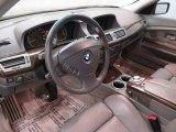 2003 BMW 7 Series Interiors