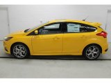 2015 Tangerine Scream Ford Focus ST Hatchback #101487432