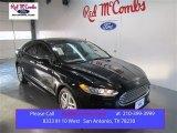 2015 Tuxedo Black Metallic Ford Fusion SE #101518637
