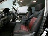 2015 Toyota Tundra TRD Pro Double Cab 4x4 TRD Pro Black/Red Interior