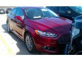 2015 Ruby Red Metallic Ford Fusion Energi Titanium #101518649