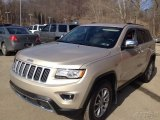 2014 Cashmere Pearl Jeep Grand Cherokee Limited 4x4 #101518606