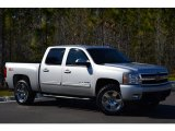 Sheer Silver Metallic Chevrolet Silverado 1500 in 2010