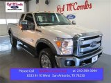 2015 Oxford White Ford F250 Super Duty Lariat Super Cab 4x4 #101545596