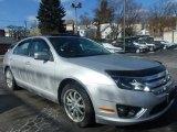 2010 Brilliant Silver Metallic Ford Fusion Hybrid #101545719