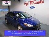 2015 Performance Blue Ford Focus Titanium Sedan #101545592