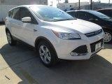 2015 White Platinum Metallic Tri-Coat Ford Escape SE #101567524