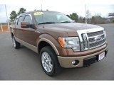 2012 Golden Bronze Metallic Ford F150 Lariat SuperCrew 4x4 #101567710