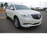 2015 White Diamond Tricoat Buick Enclave Leather #101567691