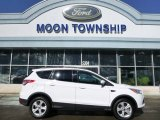 2014 Oxford White Ford Escape SE 2.0L EcoBoost 4WD #101586435