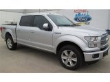 2015 Ingot Silver Metallic Ford F150 Platinum SuperCrew 4x4 #101586372