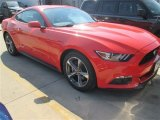 2015 Competition Orange Ford Mustang V6 Coupe #101586369