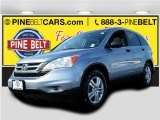 2010 Glacier Blue Metallic Honda CR-V EX AWD #101607427