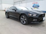 2015 Black Ford Mustang V6 Coupe #101607466